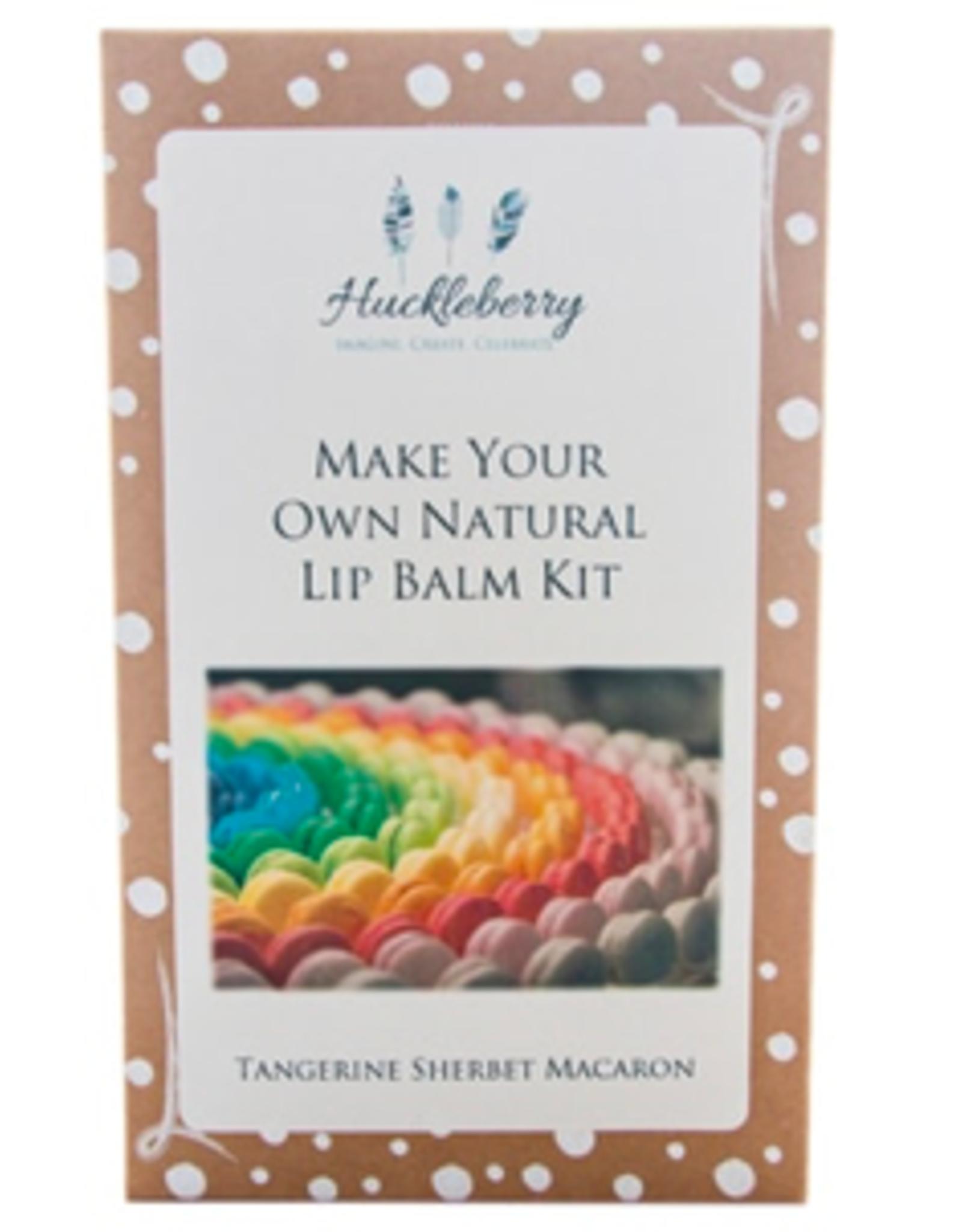 Huckleberry Huckleberry - MYO Lip Balm Tangerine Sherbet Macaron