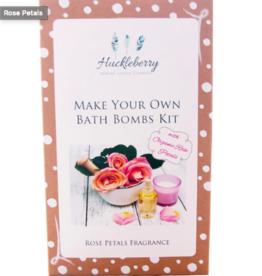 Huckleberry Huckleberry - Bath Bombs Rose Petals