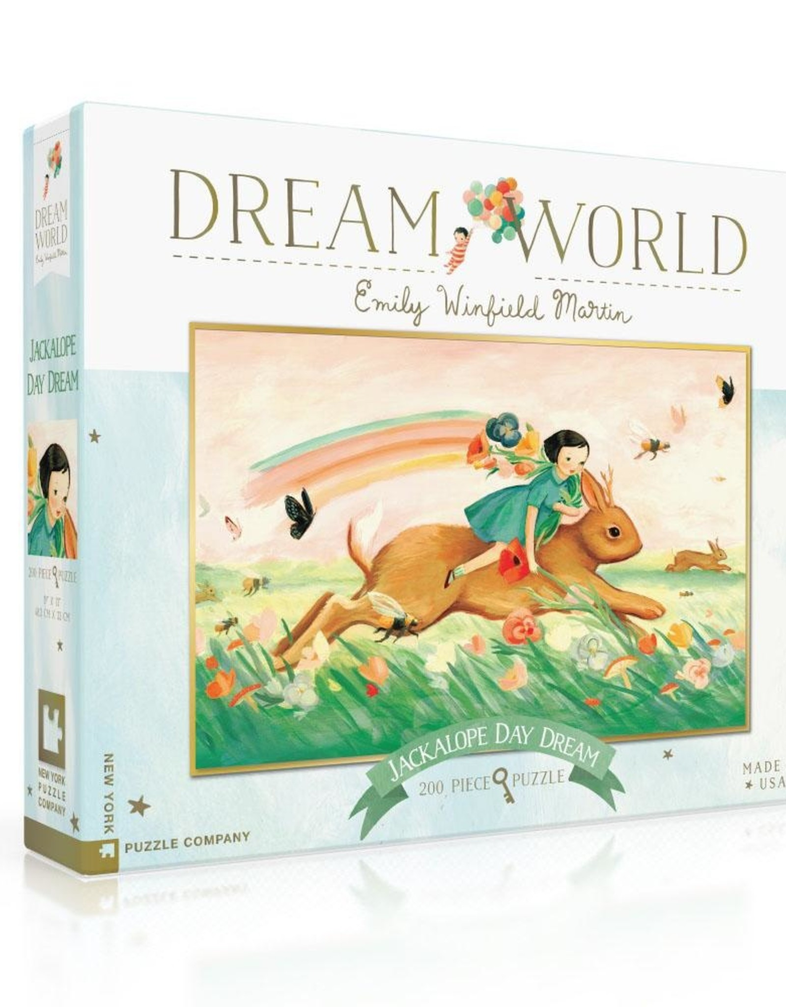 Dream World 200pce Puzzle - Jackalope Day Dream