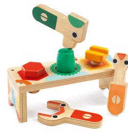 Djeco Djeco - Bricolou Wooden Tool Set