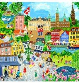 Eeboo Eeboo - Copenhagen Puzzle 1000 Pce