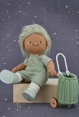 Olli Ella Olli Ella - Doll Luggy Mint
