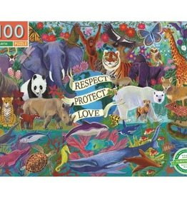 Eeboo Eeboo - Planet Earth Puzzle 100pce