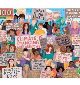 Eeboo Eeboo - Climate March Puzzle 100pce