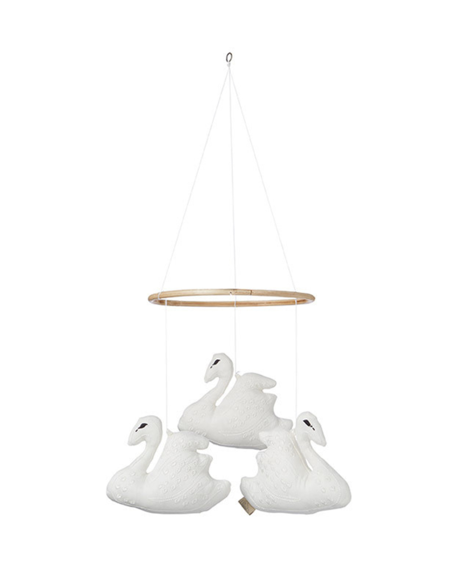 Cam Cam Cam Cam - Swan Mobile Off White