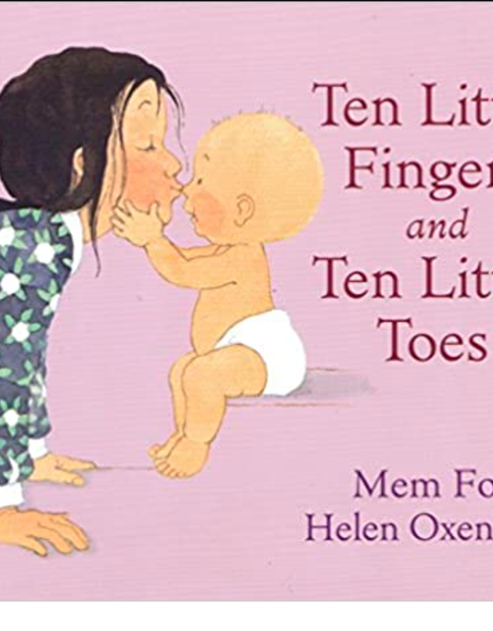 Ten Little Finger and Ten Little Toes (Board Book) - Mex Fox