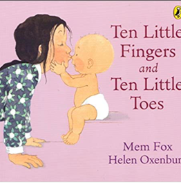 Ten Little Finger and Ten Little Toes (Board Book) - Mex Fox