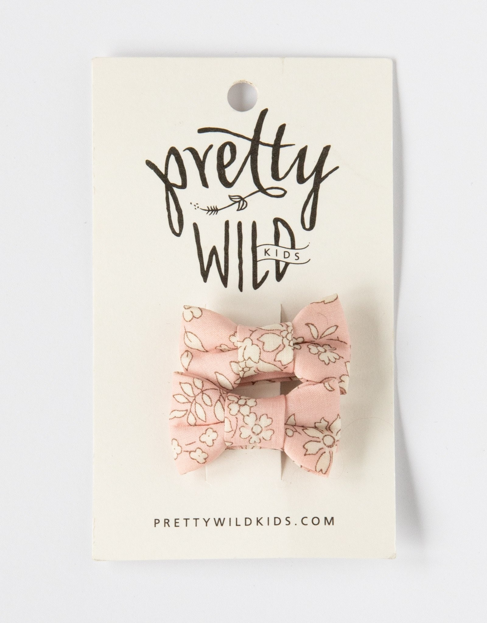 Pretty Wild Pretty Wild - Katie Twin Bow Snaps Fairy Floss