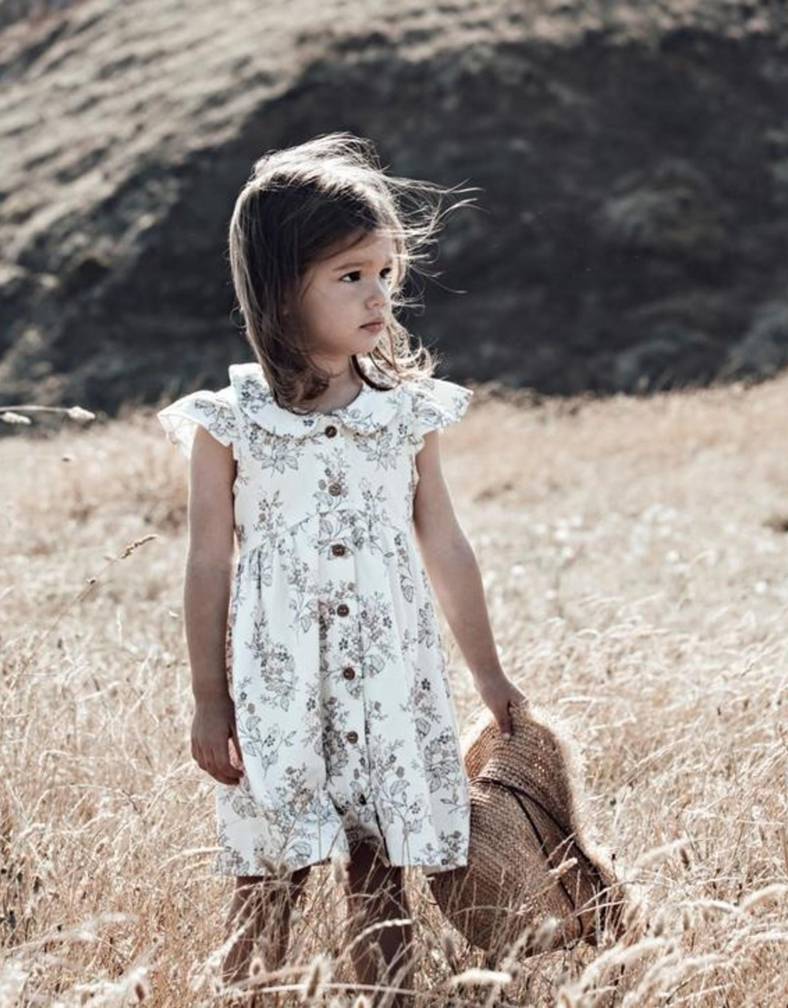Aster & Oak Aster & Oak - Summer Floral Button Dress