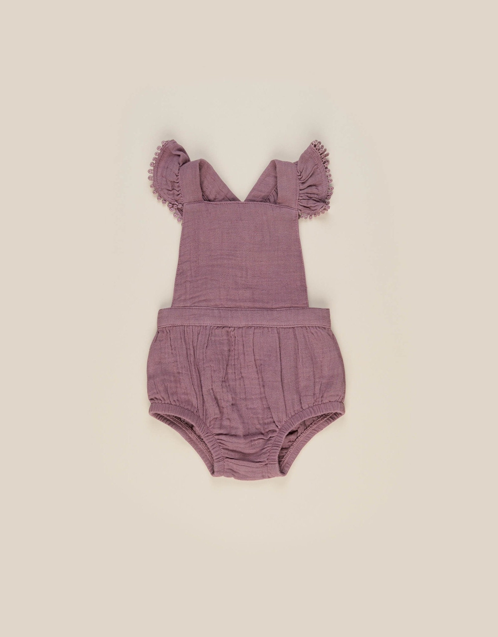 Huxbaby Huxbaby - Mulberry Frill Playsuit