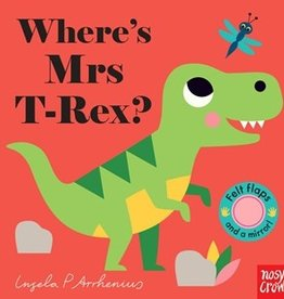 Felt Flaps  - Where's Mrs T Rex