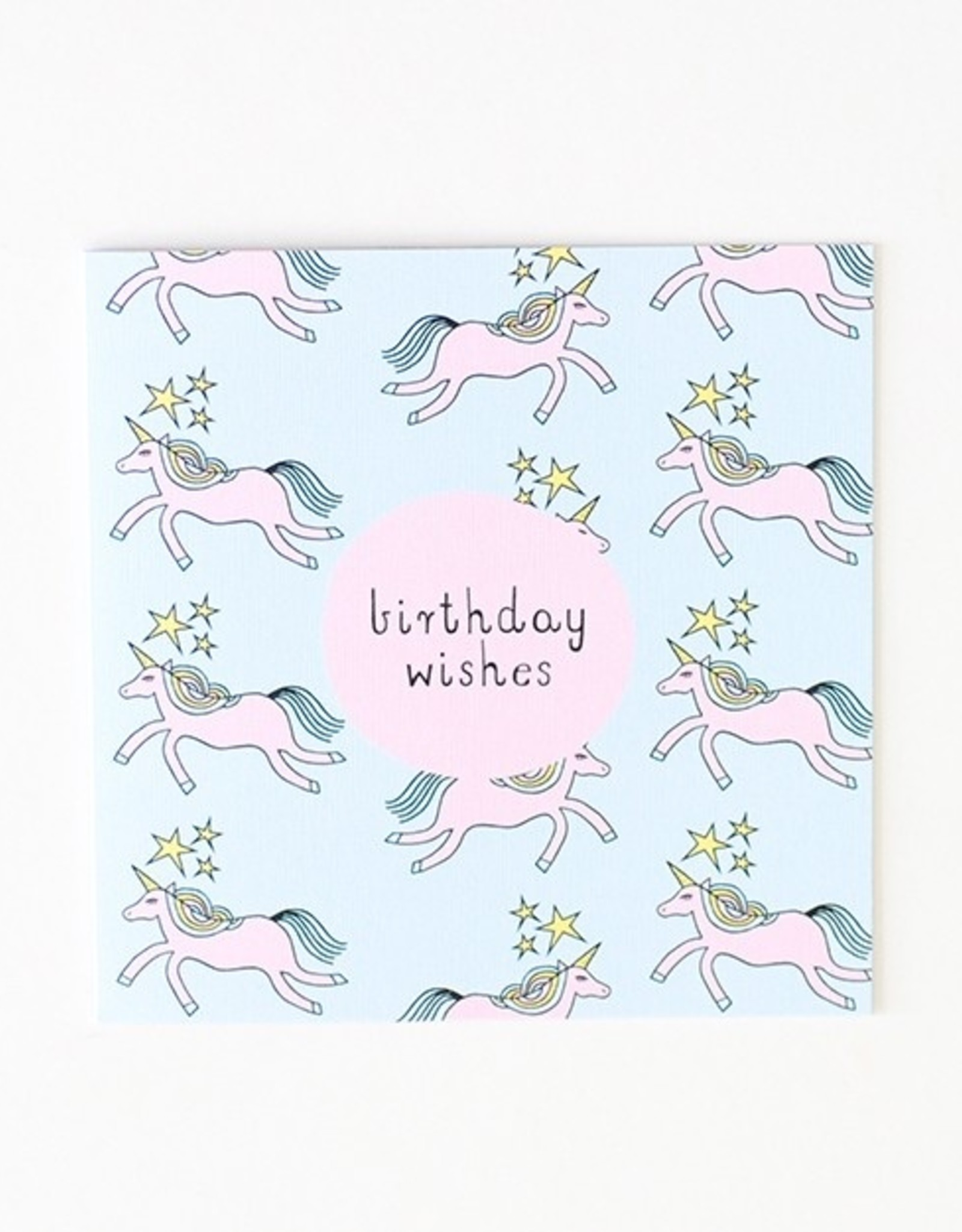 Two Little Ducklings Large Birthday Card - Birthday Wishes - Unicorn