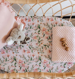 Snuggle Hunny Snuggle Hunny - Wattle Fitted Bassinet Sheet Change Pad Cover