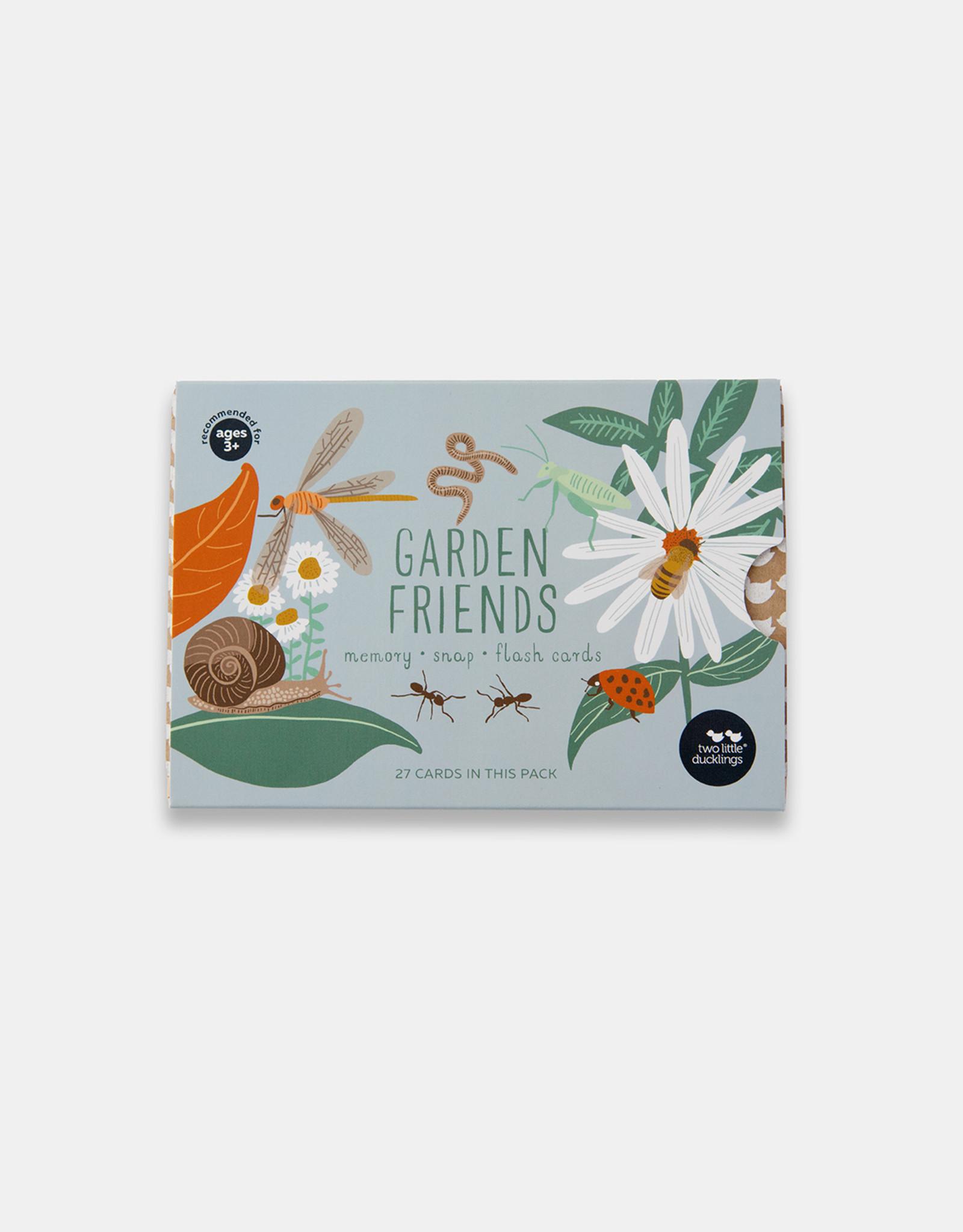 Two Little Duckings Two Little Ducklings - Garden Friends Snap & Memory Flash Cards