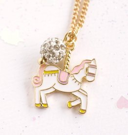 Lauren Hinkley Lauren Hinkley - Unicorn Carousel Gold Necklace