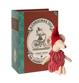 Maileg Maileg - Christmas Mouse In Book Big Sister