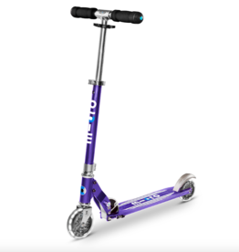 Micro Scooter Micro Sprite LED Scooter - Blue Stripe