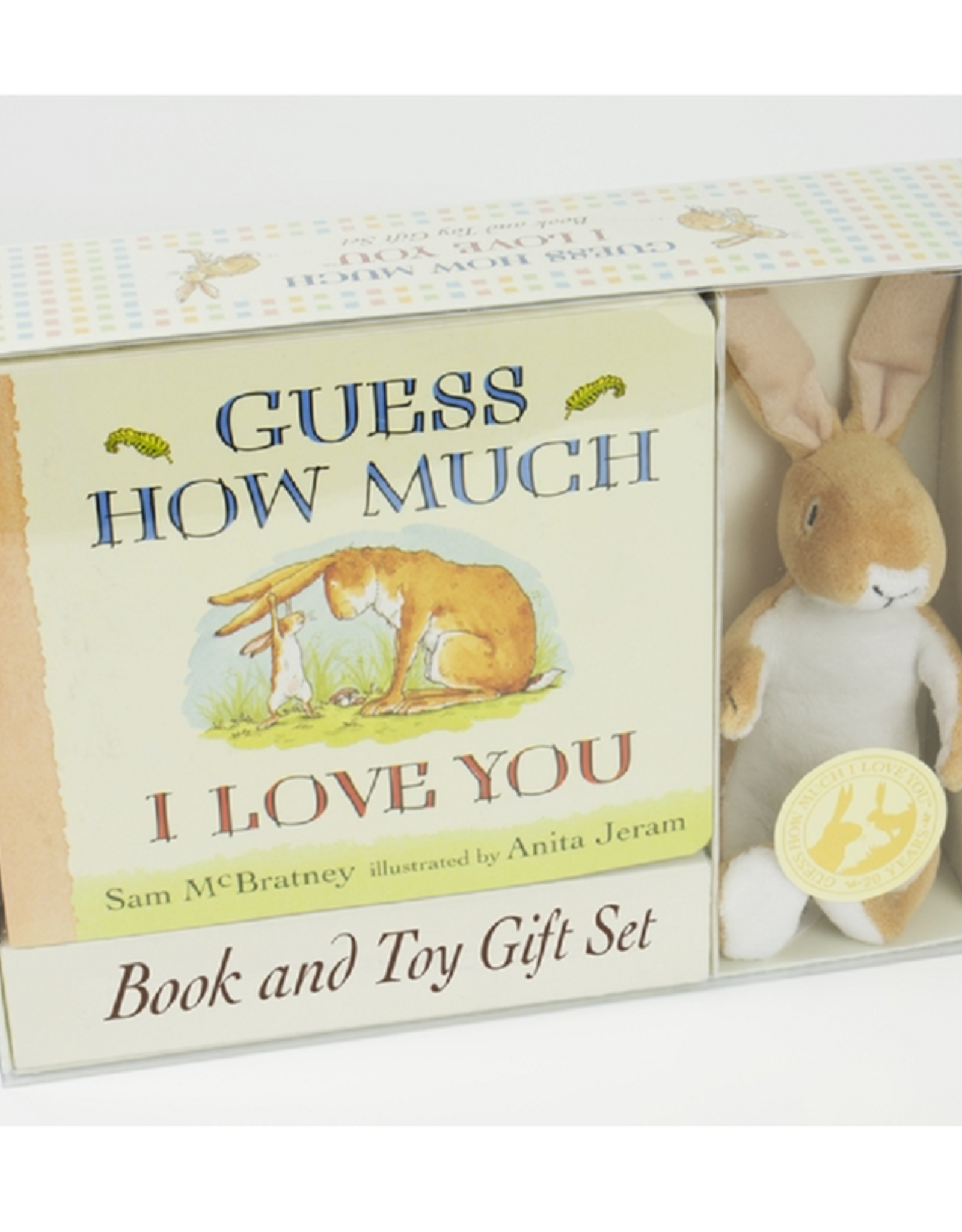 Guess How Much I Love You - Book And Toy Set