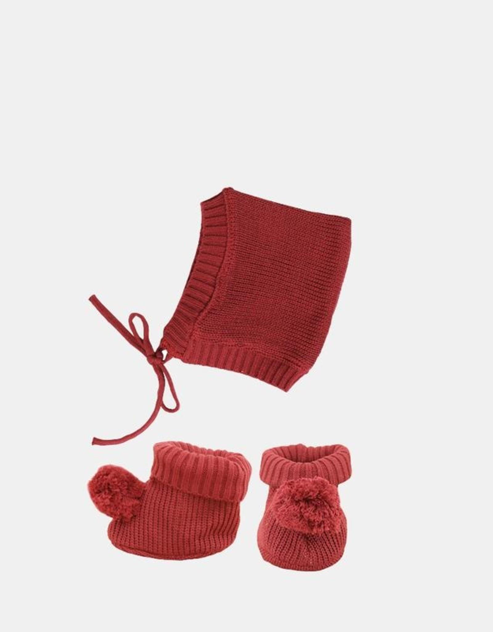 Olli Ella Olli Ella - Dinkum Doll Knit Set Plum