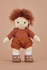 Olli Ella Olli Ella - Dinkum Doll Snuggly Knit Set Toffee