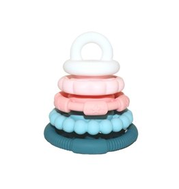 Jellystone Designs Jellystone - Rainbow Stacker & Teether Toy Sugar Blossom