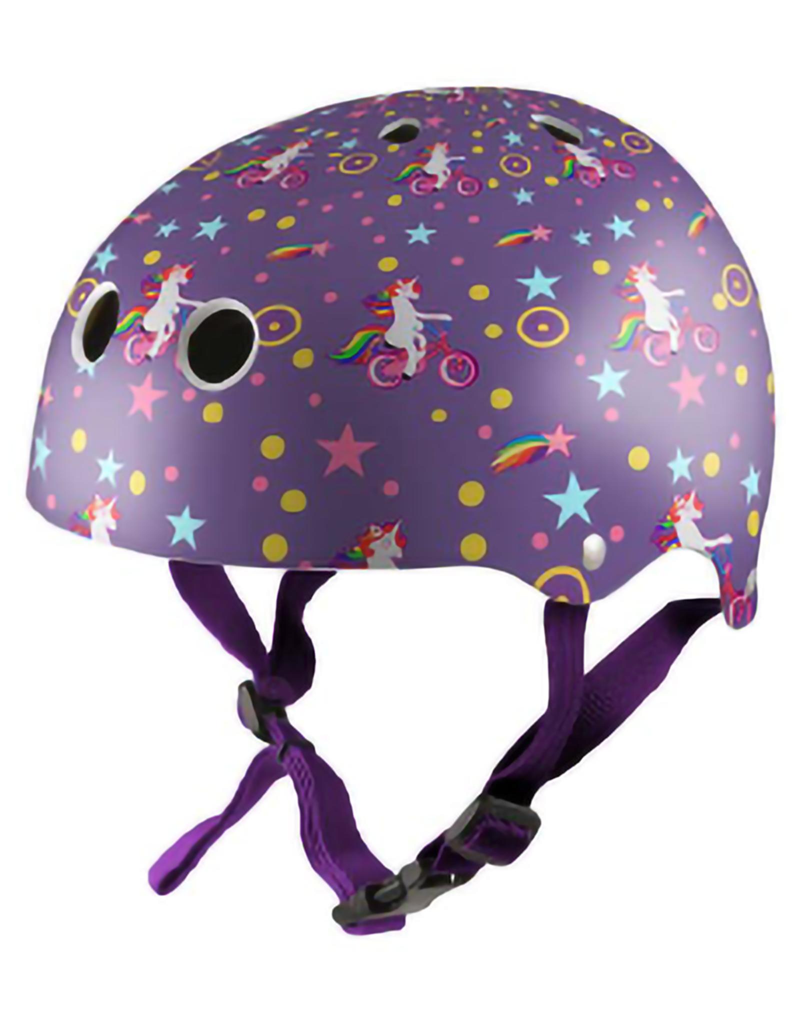 Kiddimoto Helmet Kiddimoto helmet - Purple Unicorn Small