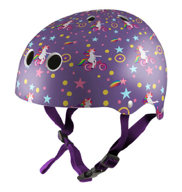 Kiddimoto Helmet Kiddimoto helmet - Purple Unicorn Small