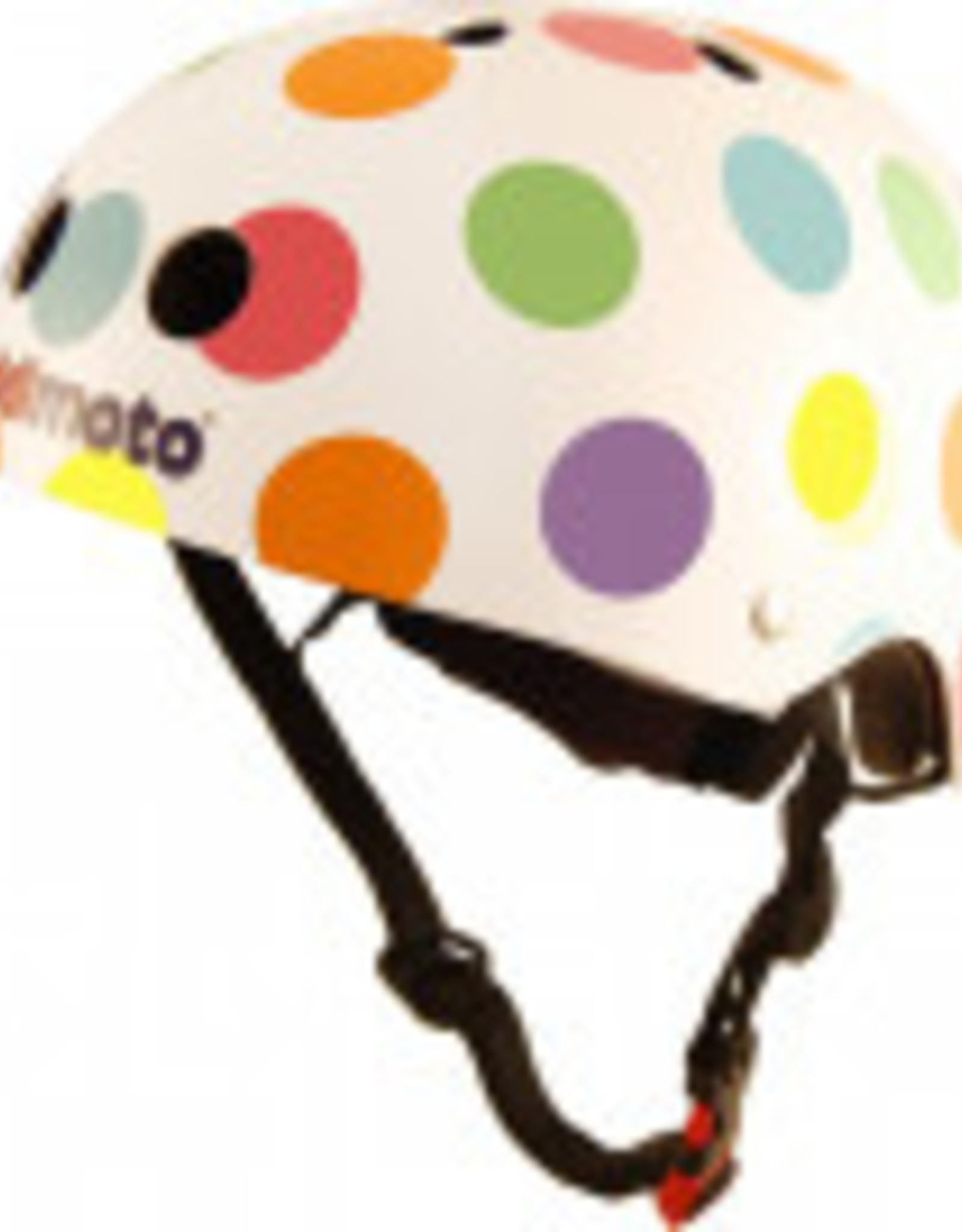 Kiddimoto Helmet Kiddimoto Helmet - Pastel Dotty Small