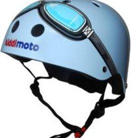 Kiddimoto Helmet Kiddimoto Helmet Blue Goggles Small