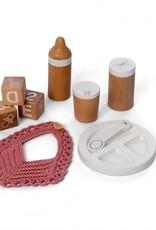 Astrup Astrup - Wooden Doll Feeding Set