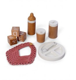 Astrup Astrup -Wooden Doll Feeding Set