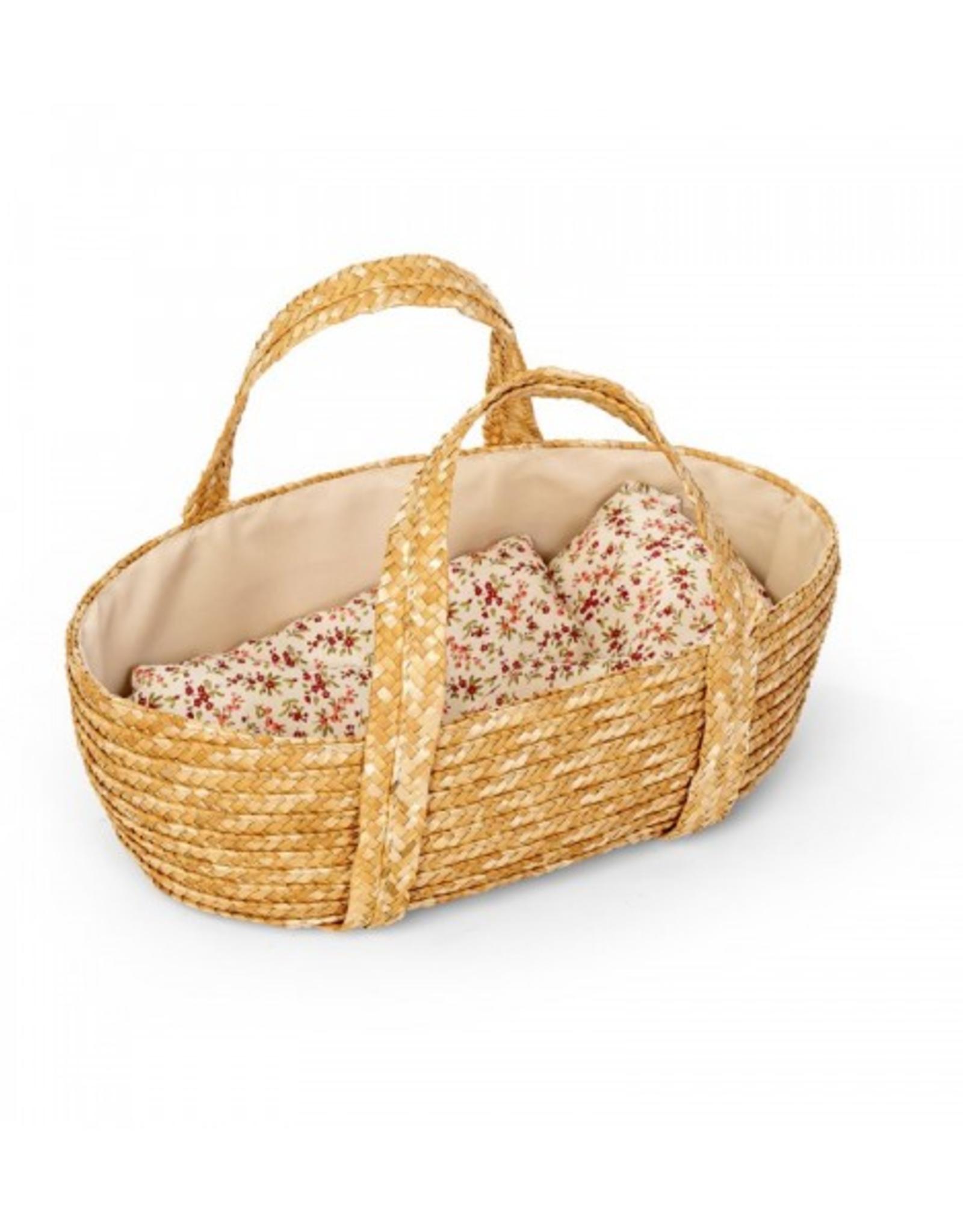 Astrup Astrup - Doll Weaved Moses Basket 35cm