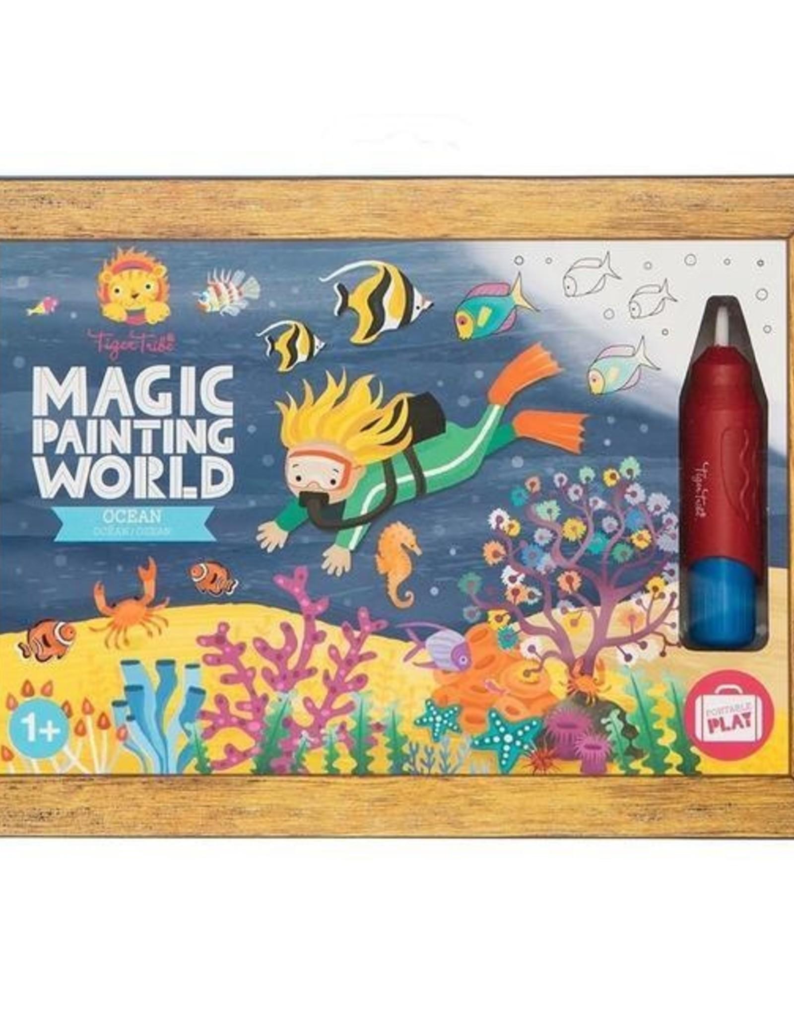 Tiger Tribe Magic Painting World - Ocean