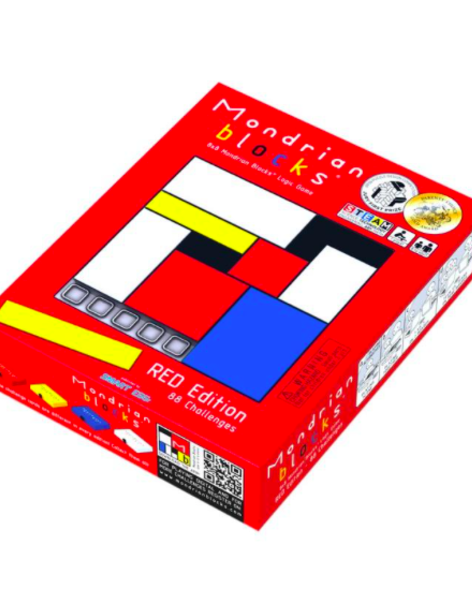 Mondrian Blocks Red Edition