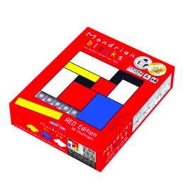 Mondrian Blocks Red Edition