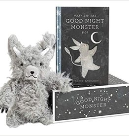 Good Night Monster - Book & Plush Toy