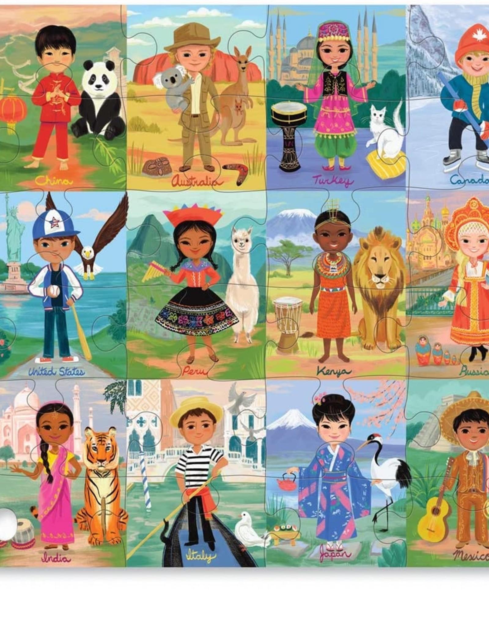 Crocodile Creek Crocodile Creek - Children of the World Puzzle 36pce
