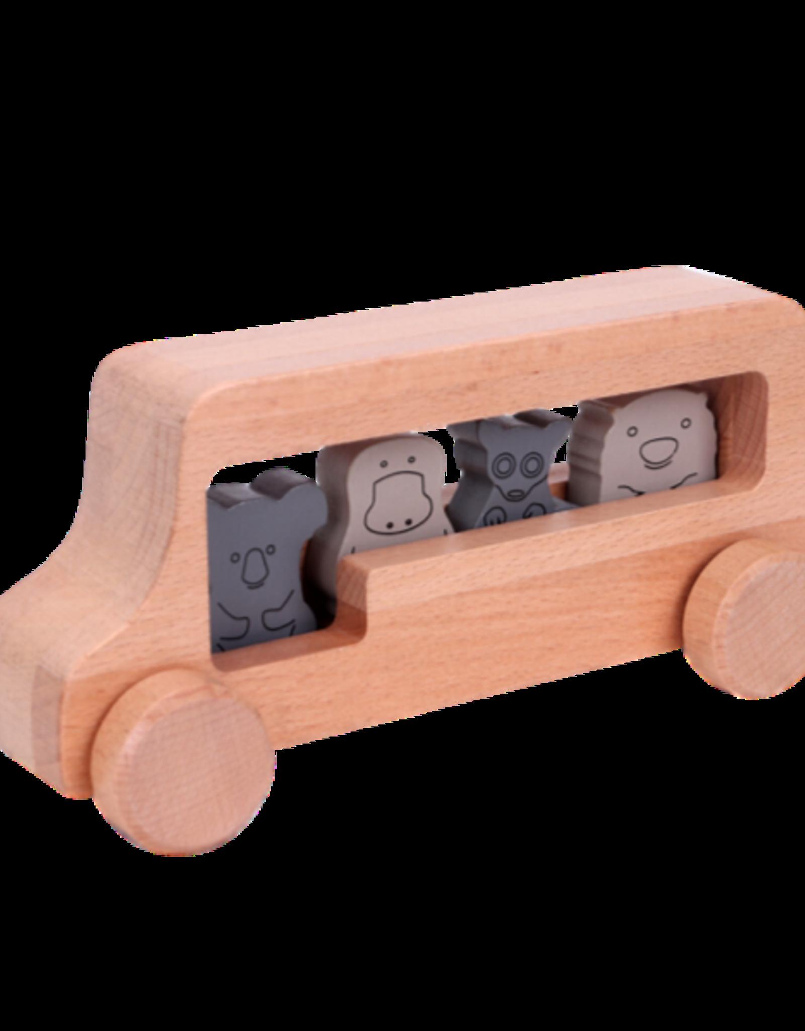 Discoveroo Discoveroo - Chunky Animal Bus