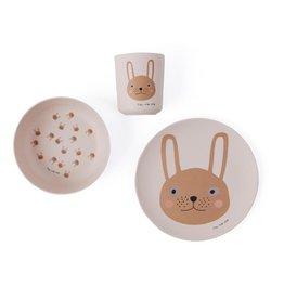 OYOY OYOY - Rabbit Mini Tableware Set