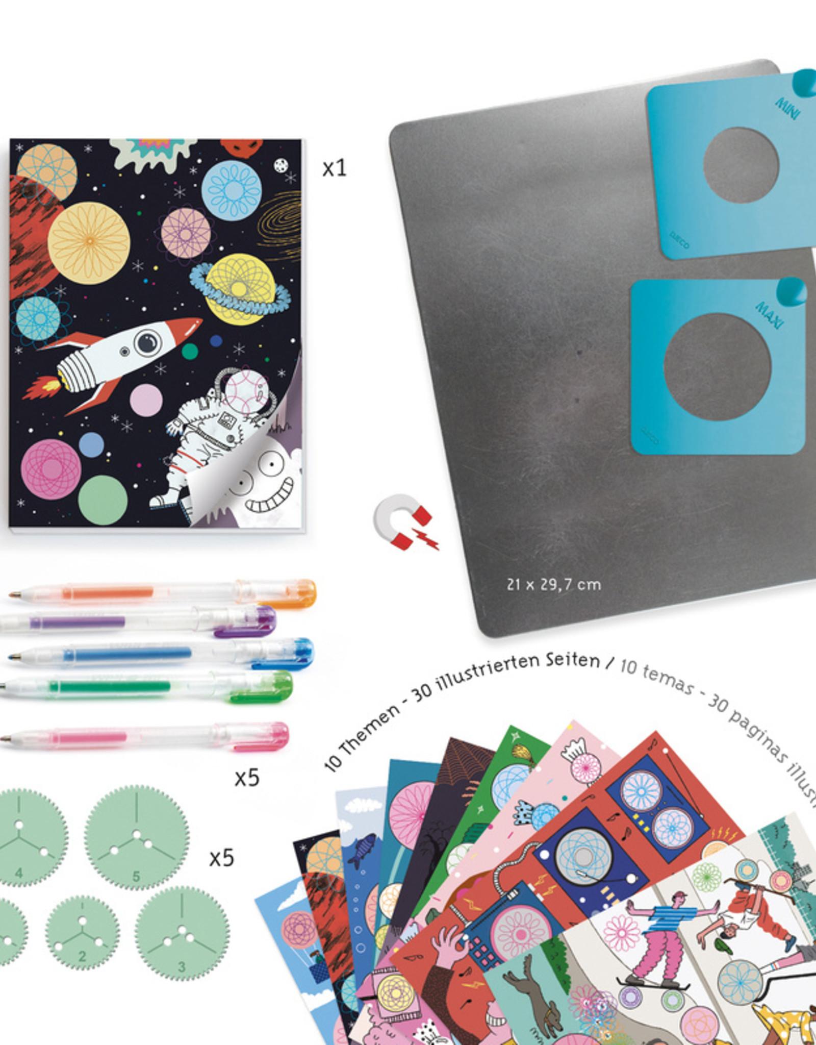 Djeco Djeco - Spirals 10 Designs