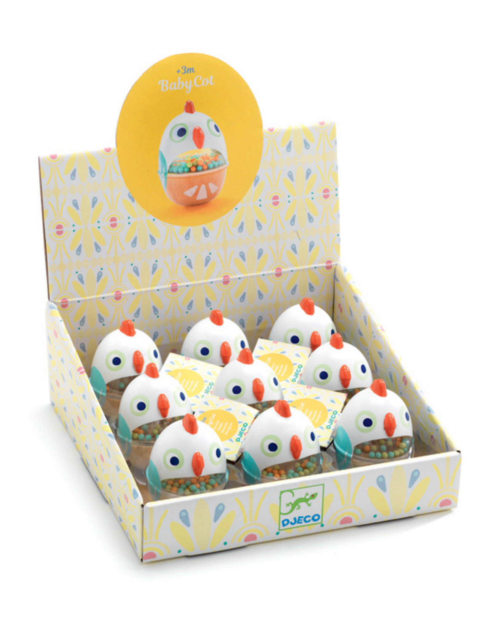 Djeco Djeco - Babycot Egg  Shaker
