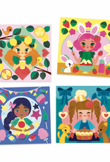 Djeco Djeco - Snack Time Paint Cards