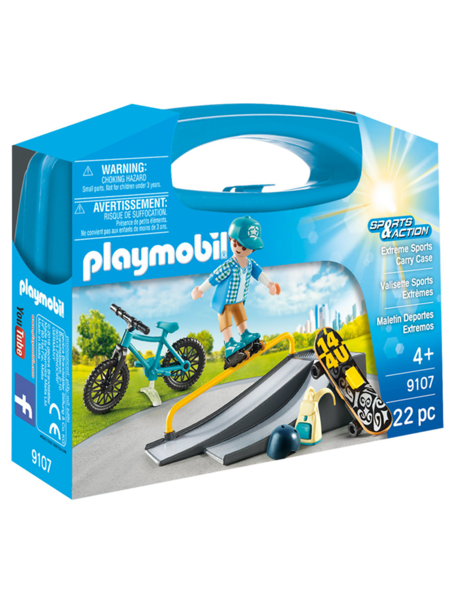 playmobil Playmobil - Extreme Sports Carry Case