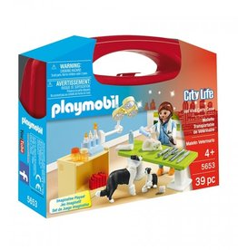 playmobil Playmobil - Vet Visit Carry Case
