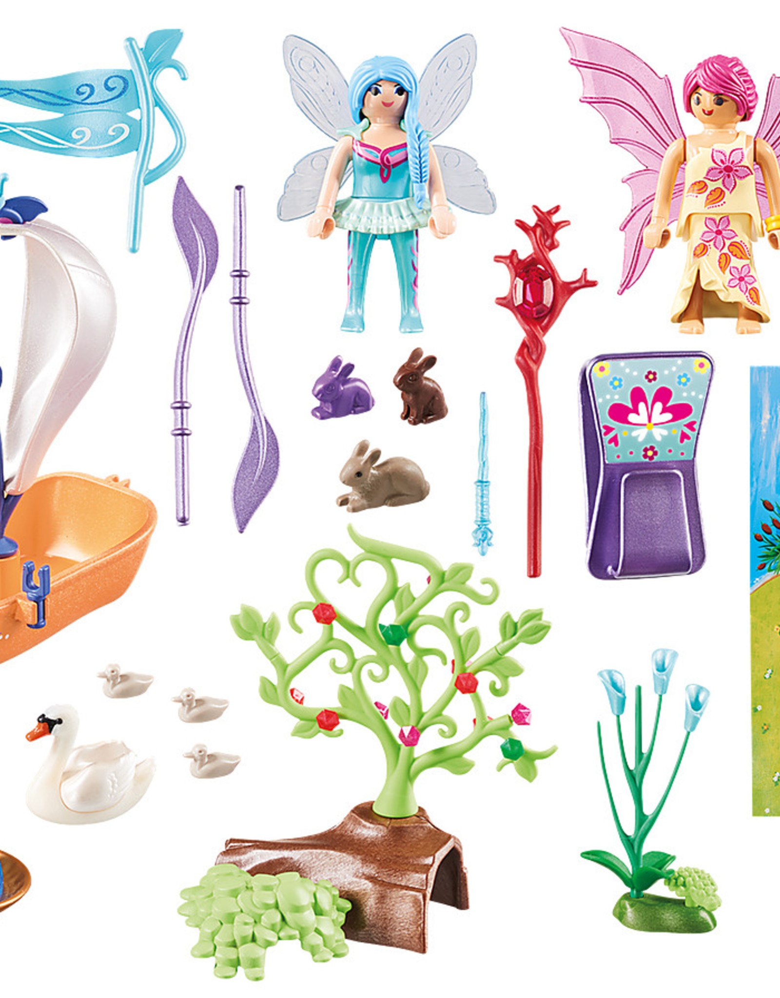 playmobil Playmobil - Fairy Garden Play Map