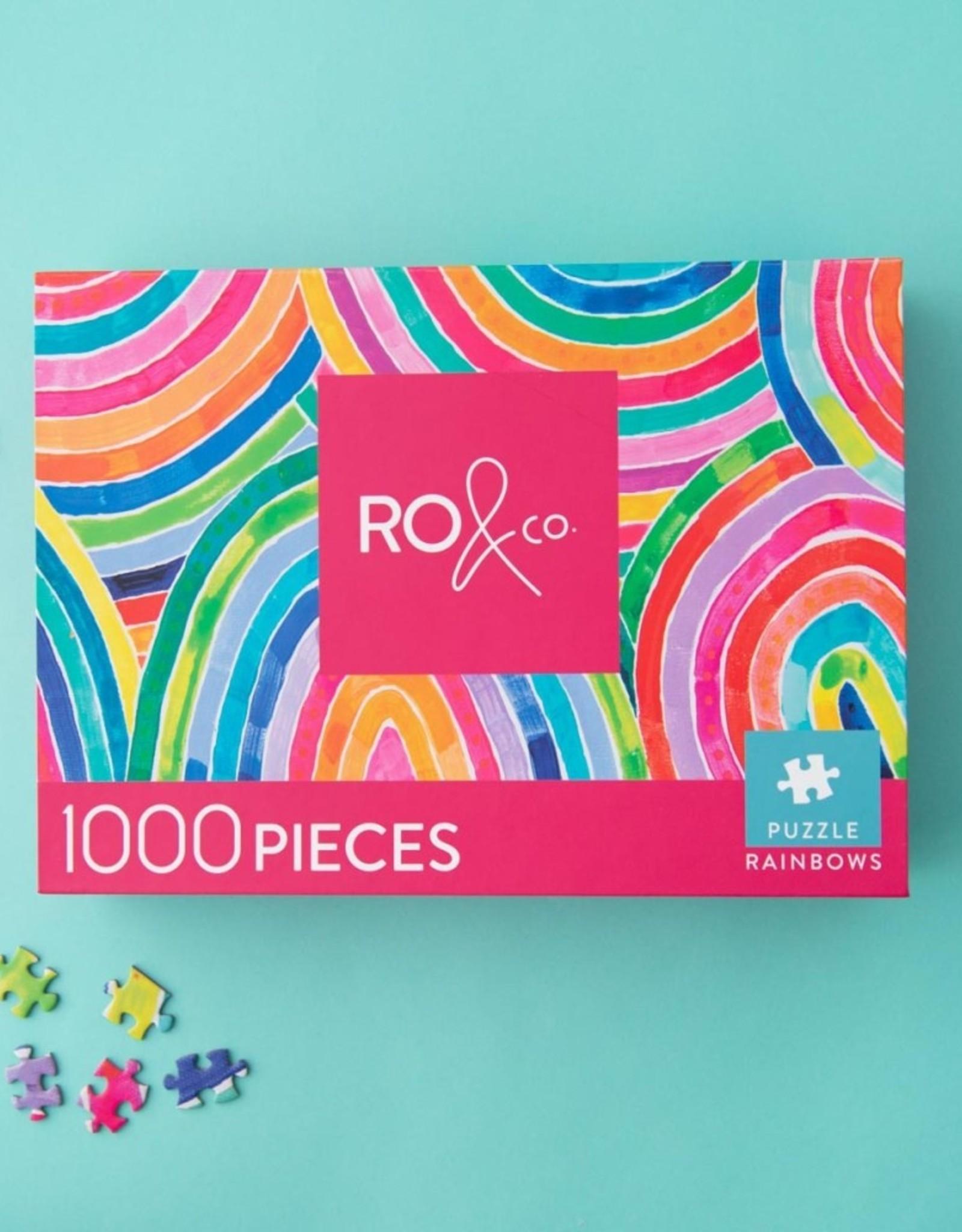 RO & Co - Rainbow Puzzle 1000pce