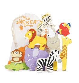 Le Toy Van Petilou - Africa Stacker & Bag