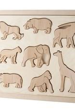 Kubi Dubi Kubi Dubi - Wooden Puzzle  Animals of Africa