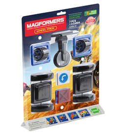 Magformers Magformers - Wheel Accessory Pack 7 Pcs