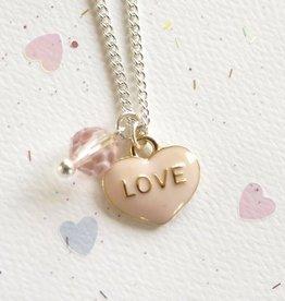 Lauren Hinkley Lauren Hinkley - White Heart Necklace
